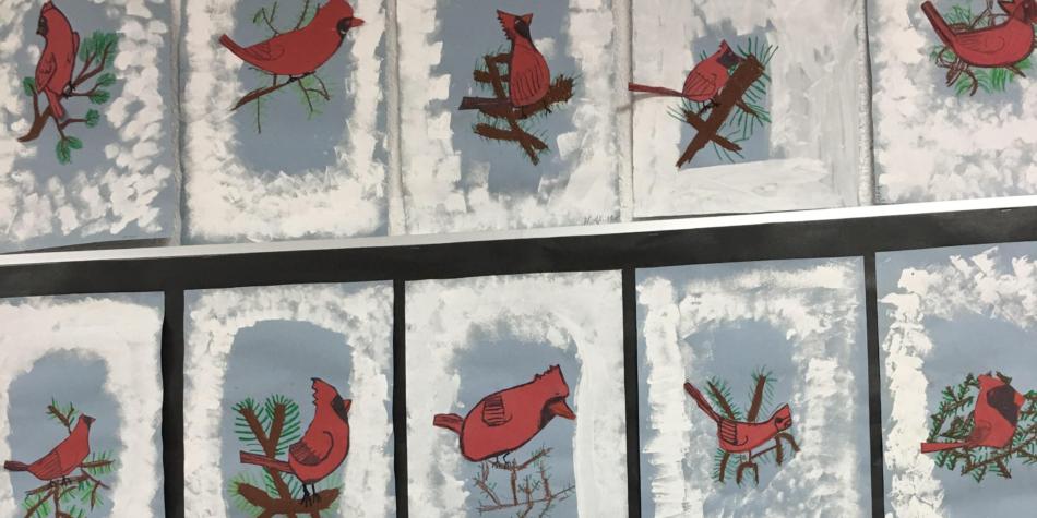 Cardinals have arrived