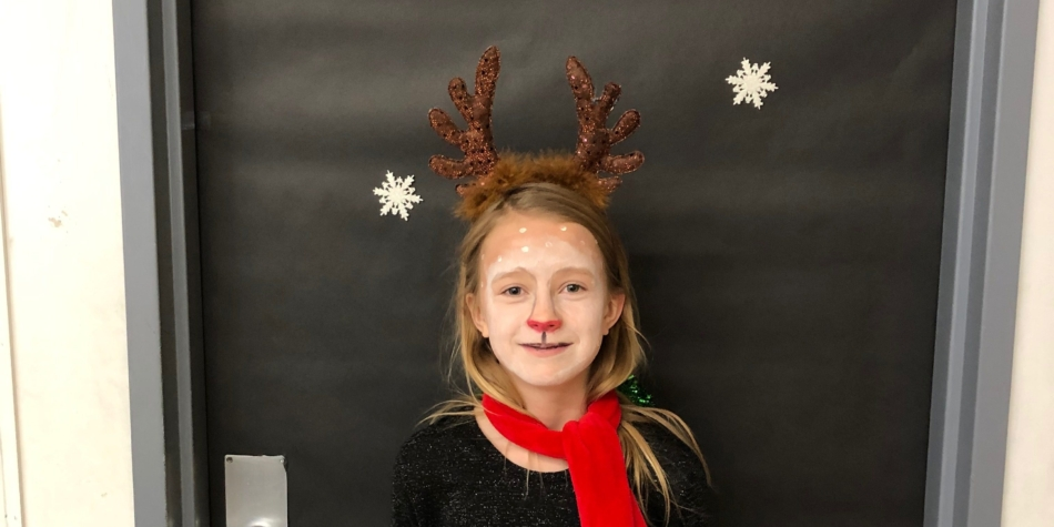 Winter Character Day- Our own Reindeer
