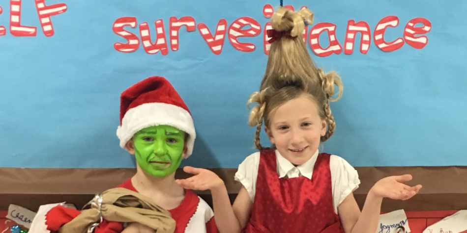 WES Celebrates the Holiday with Winter Character Day