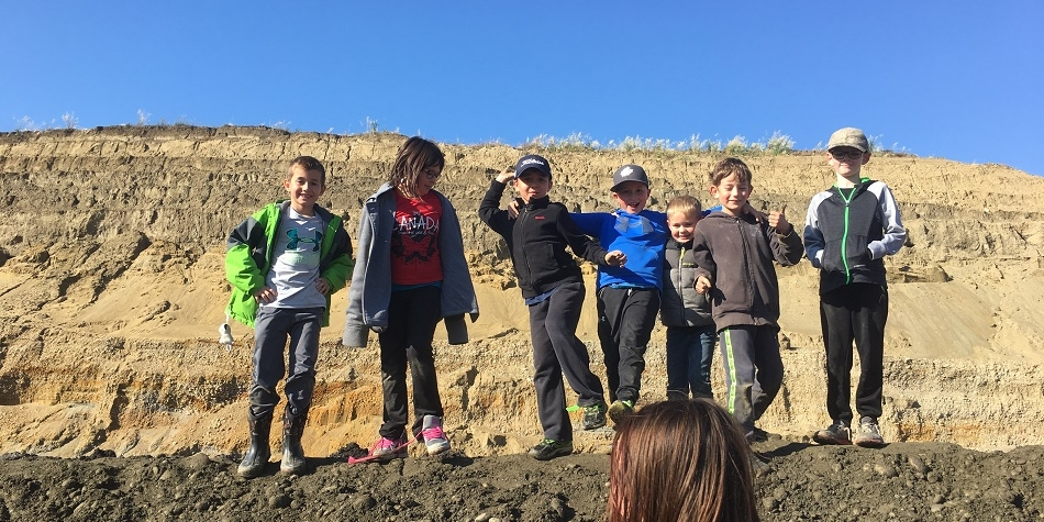 Grade 3/4 Field trip to Inland Gravel Pits