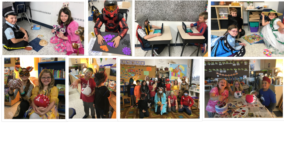 Halloween in 3 A and 3 K