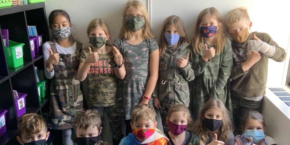 WES Spirit Day- Camouflage Day