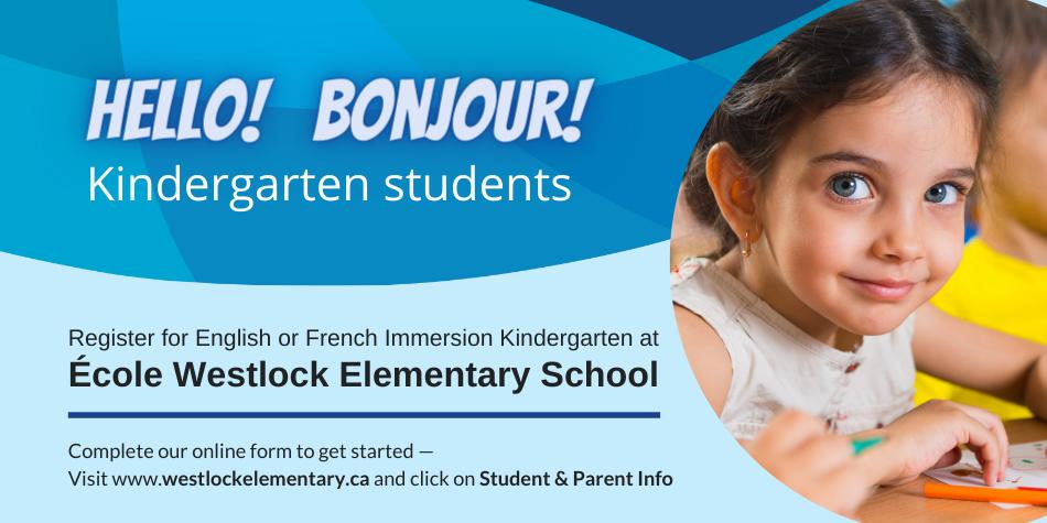 Register for Kindergarten 2021-2022